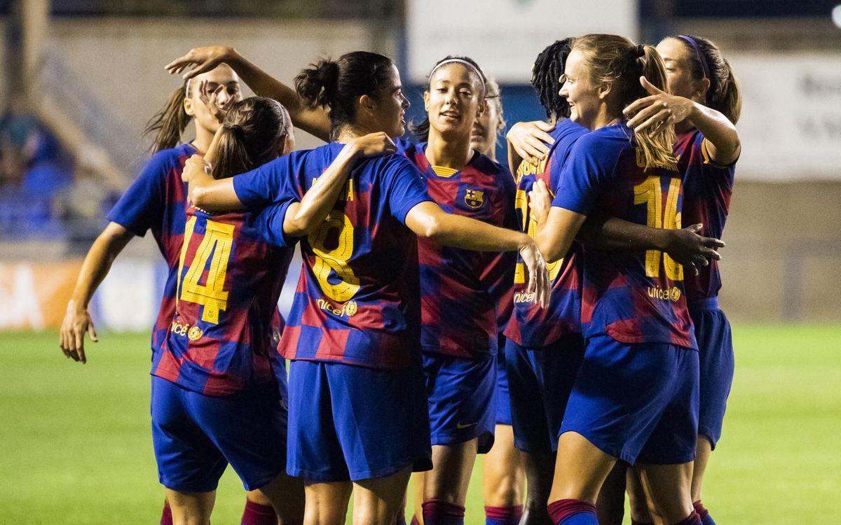 Barça - Espanyol: ¡Campeonas de la Copa Catalunya! (4-0)