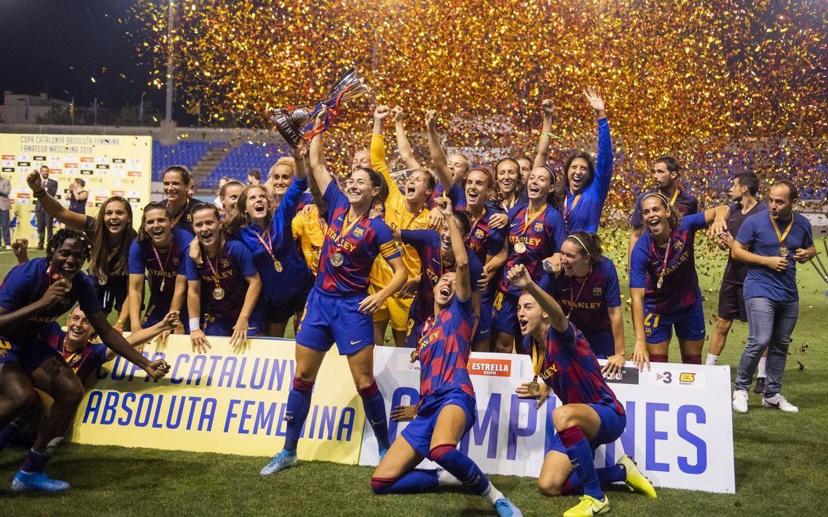 ¡La décima Copa Catalunya en once años!
