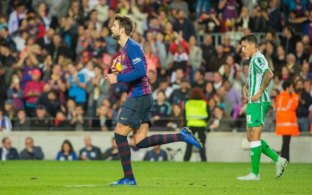 Barça-Betis: La Liga vuelve al Camp Nou