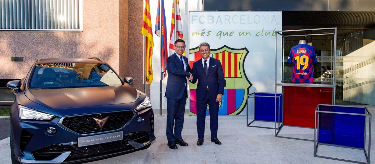 El FC Barcelona i CUPRA s'uneixen en una nova aliança global per a les properes cinc temporades