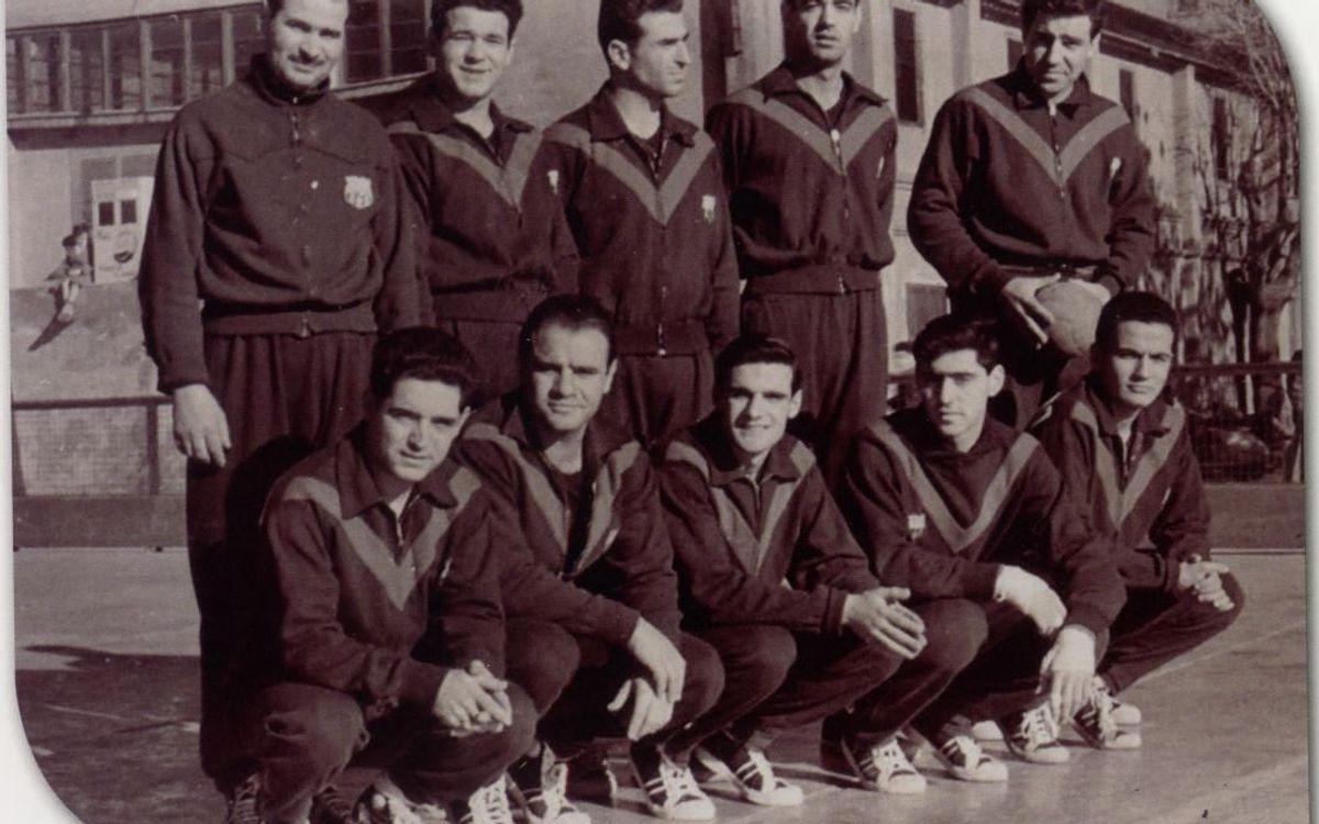 Mor Lluís Miracle, excapità i exentrenador del Barça d'handbol