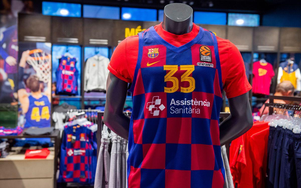 La camiseta de baloncesto, a la venta