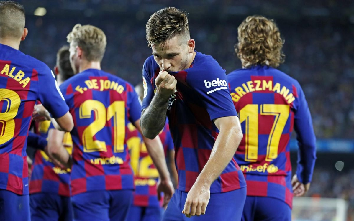 13 first team debutants from La Masia in the Valverde era