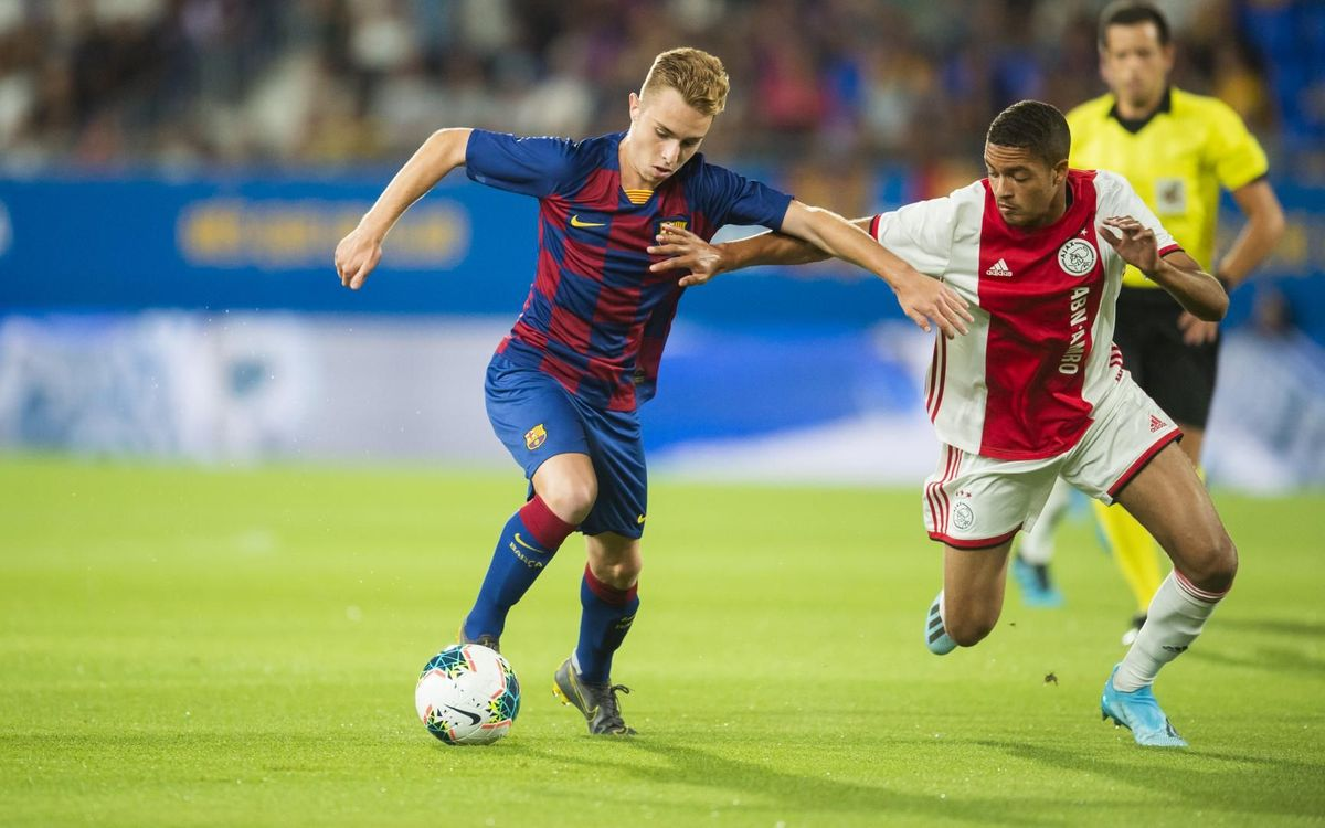 Barça U19A 0 Ajax 2: Dutch win on opening night