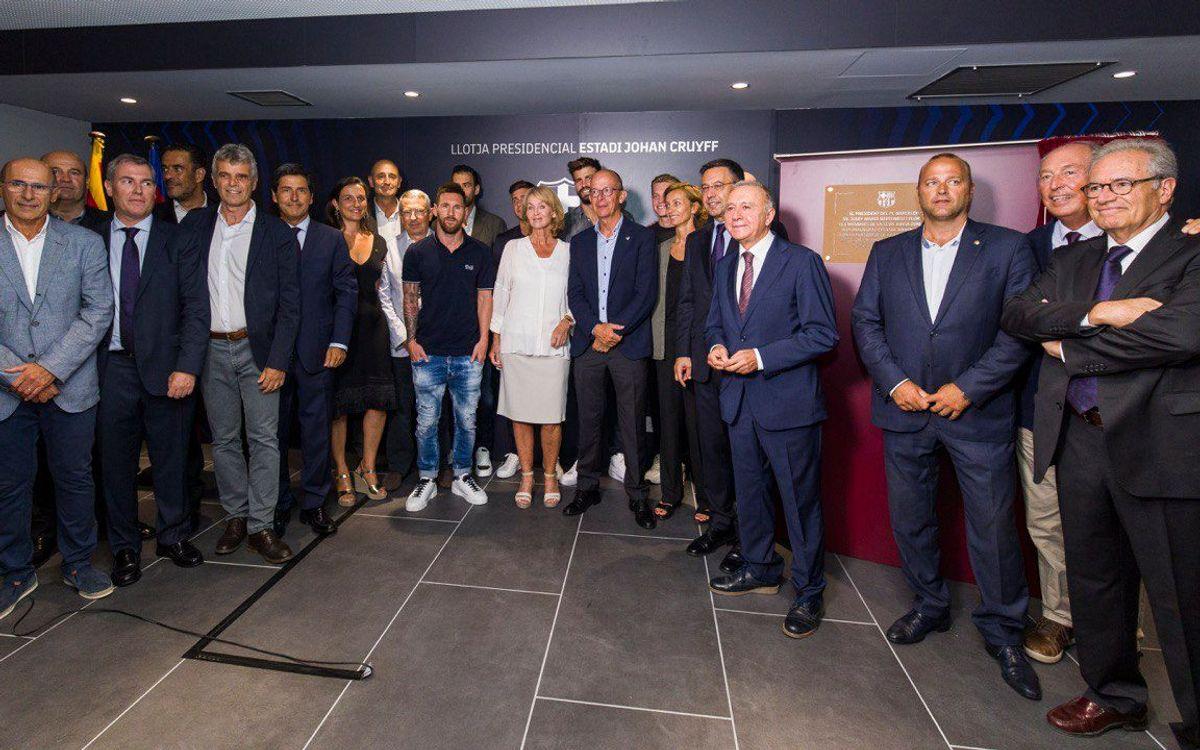 FC Barcelona open 'Estadi Johan Cruyff'