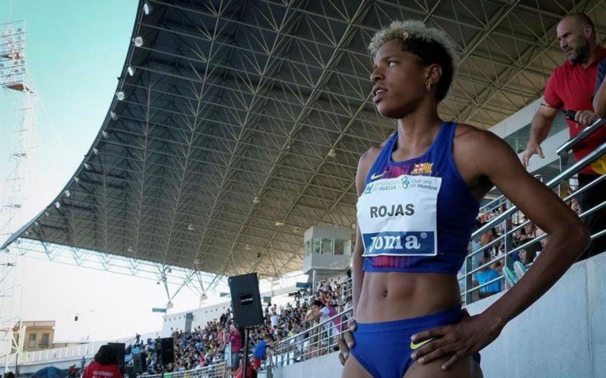 Yulimar Rojas, a un salto de escribir una nueva página en la historia del atletismo azulgrana