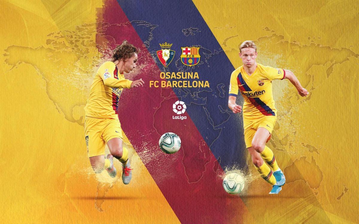 Quan i on veure l'Osasuna – Barça
