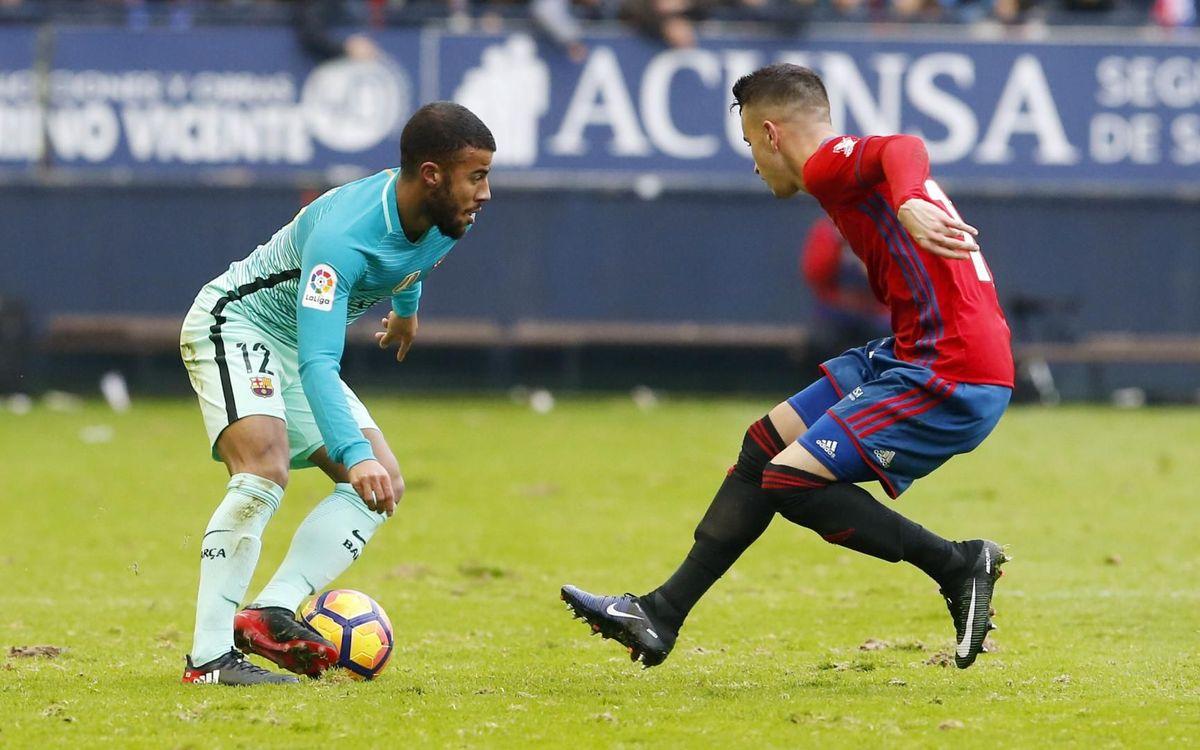 El Barça vuelve a Pamplona tres temporadas después