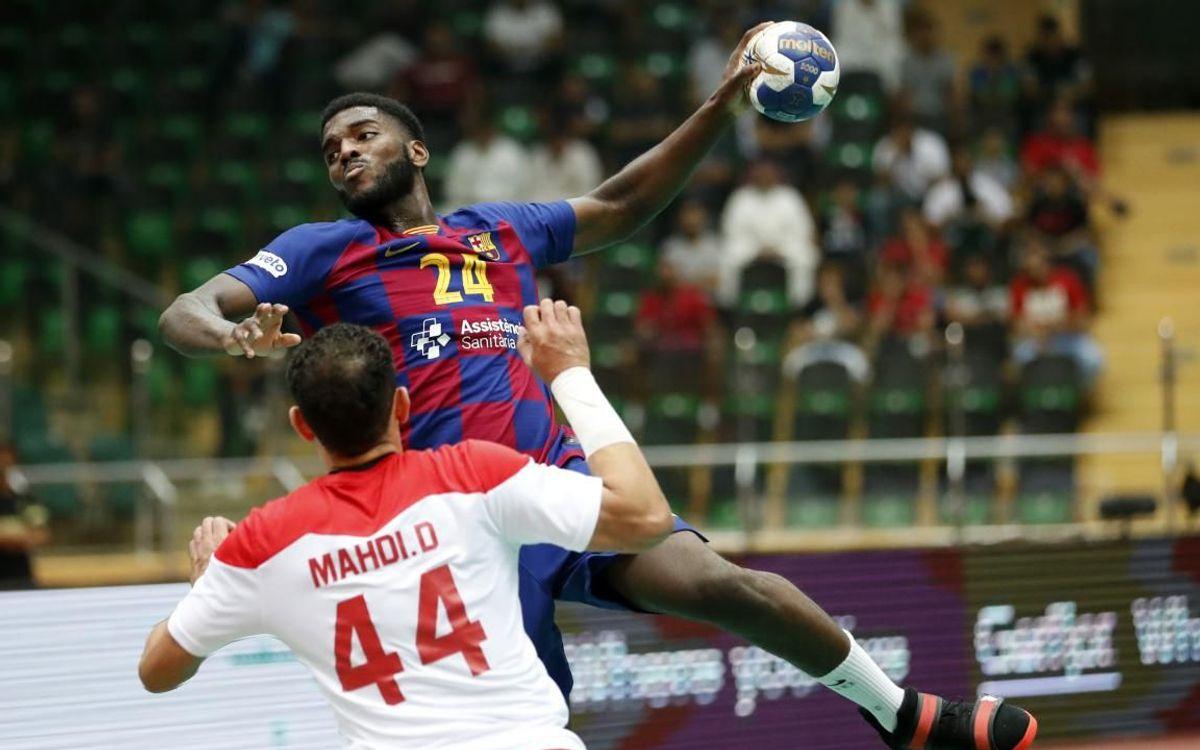 Al Wehda - Barça: ¡Remontada y a la final! (24-34)
