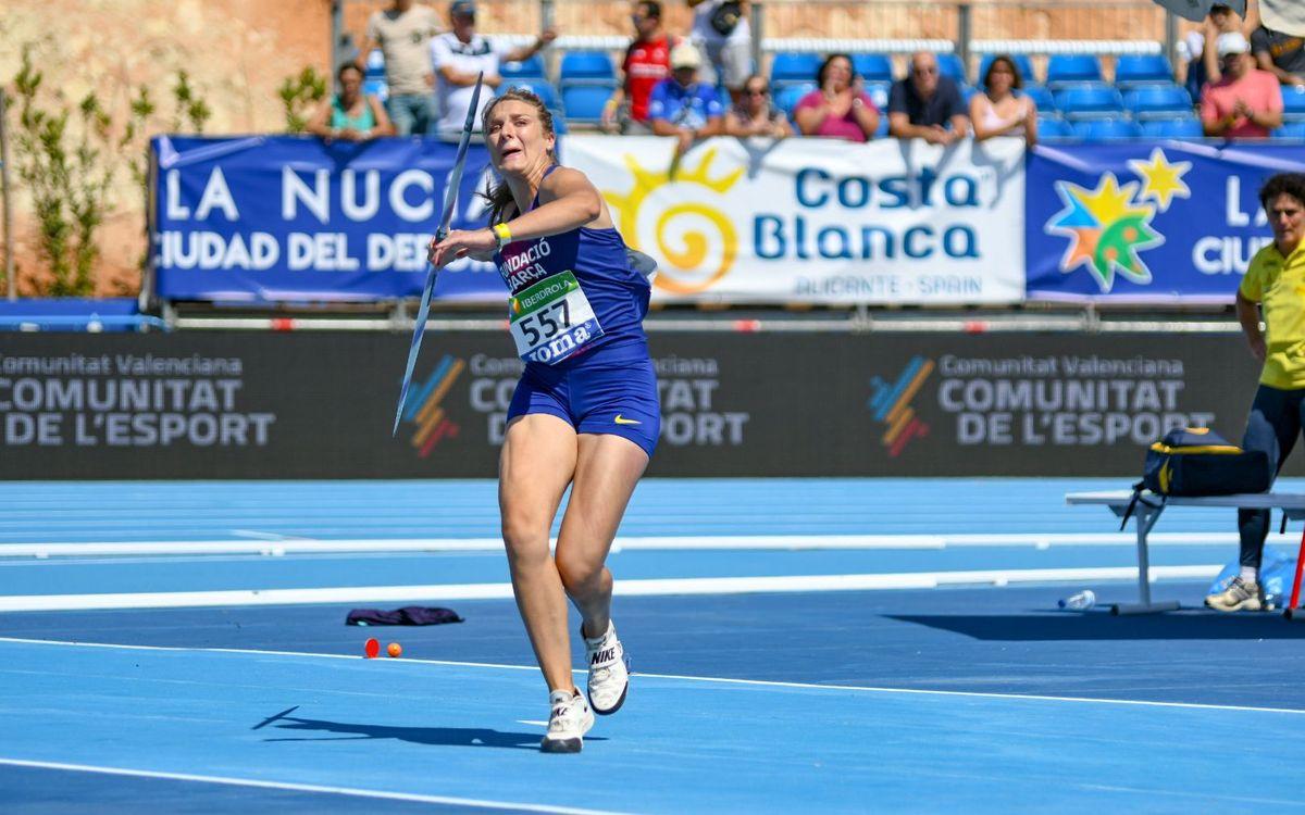 Arantza Moreno suma el primer or blaugrana en el Campionat d'Espanya