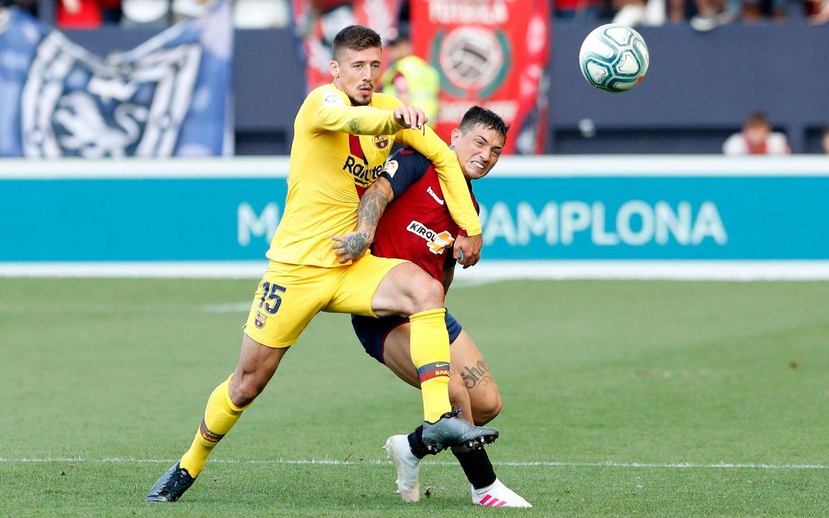 صور مباراة : أوساسونا - برشلونة 2-2 ( 31-08-2019 )  _12I8080