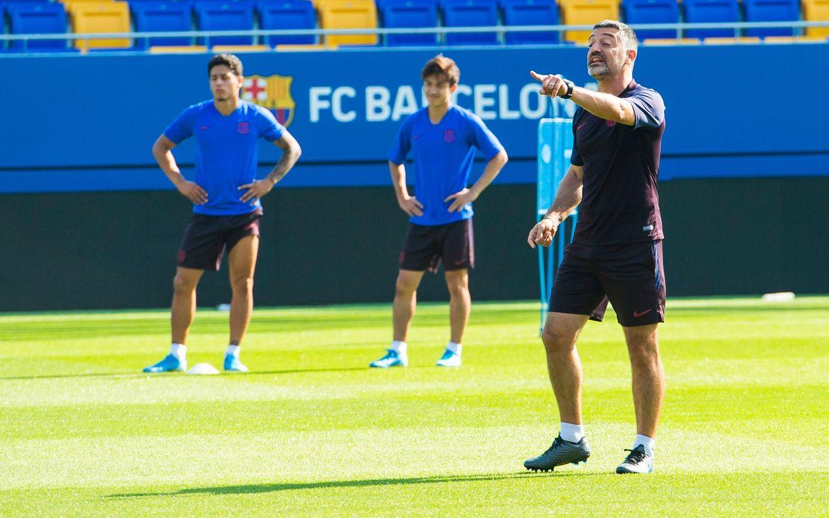 Barça B – Nàstic (prèvia): Primer partit oficial a l'Estadi Johan Cruyff