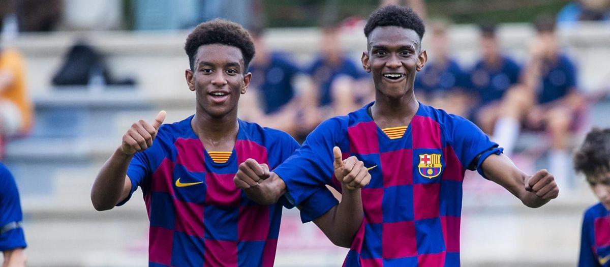 Juvenil B - Damm B: Victoria contundente en el primer partido de Liga (3-0)