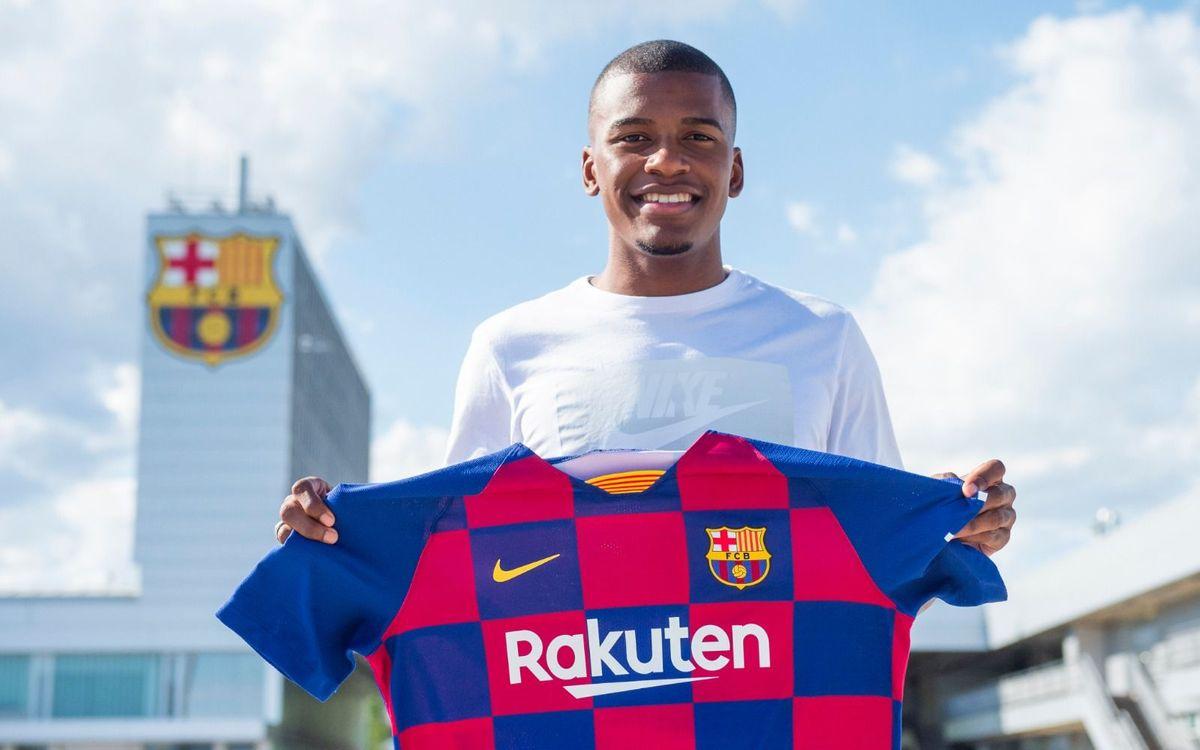Sergio Akieme se incorpora al Barça