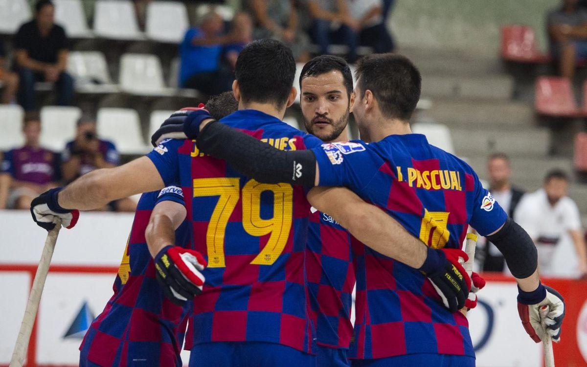Barça – CH Palafrugell: Cap a les semifinals (5-0)