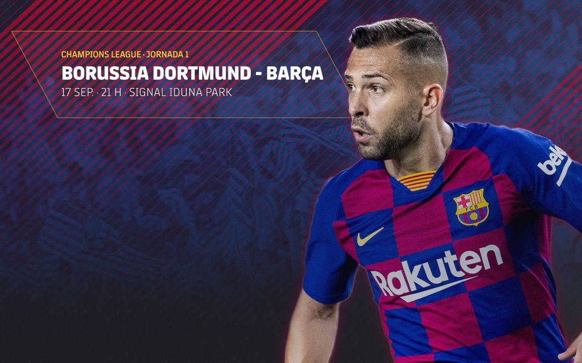 Venta de entradas para el debut de la Champions en el estadio del Borussia Dortmund
