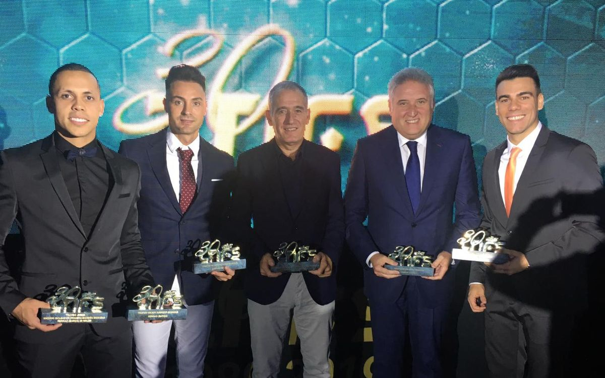 El Barça copa la gala de presentación de la LNFS
