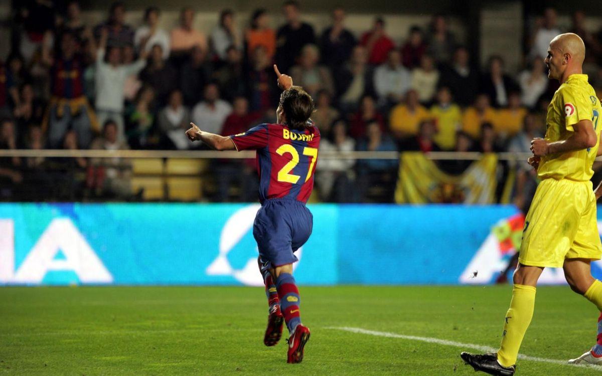 Els golejadors més joves del Barça