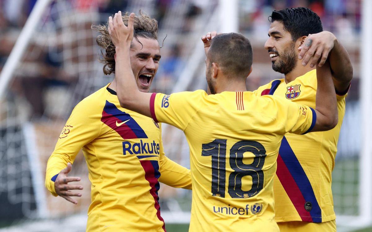 Jordi Alba portarà el '18' per vuitena temporada consecutiva