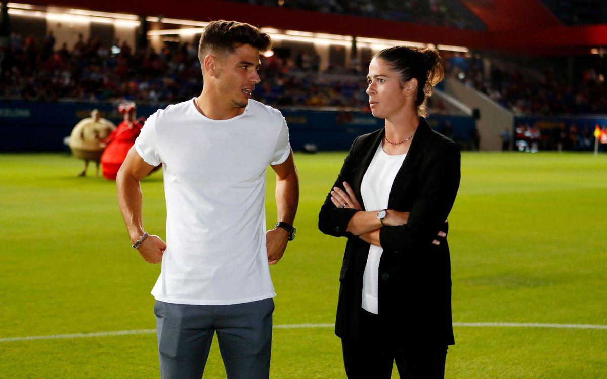 """Marta Torrejón: """"Notarem el caliu de l'afició"""""""
