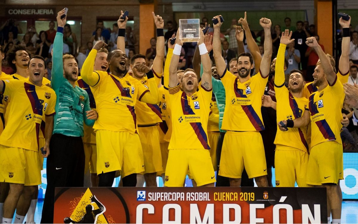 Liberbank Cuenca 22-23 Barça: Three titles already!