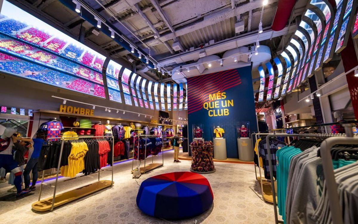 New Barça Store in the heart of La Rambla