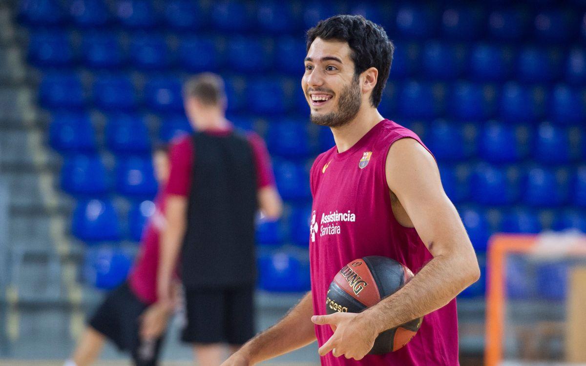 Arriba el primer amistós de la pretemporada per al Barça de bàsquet