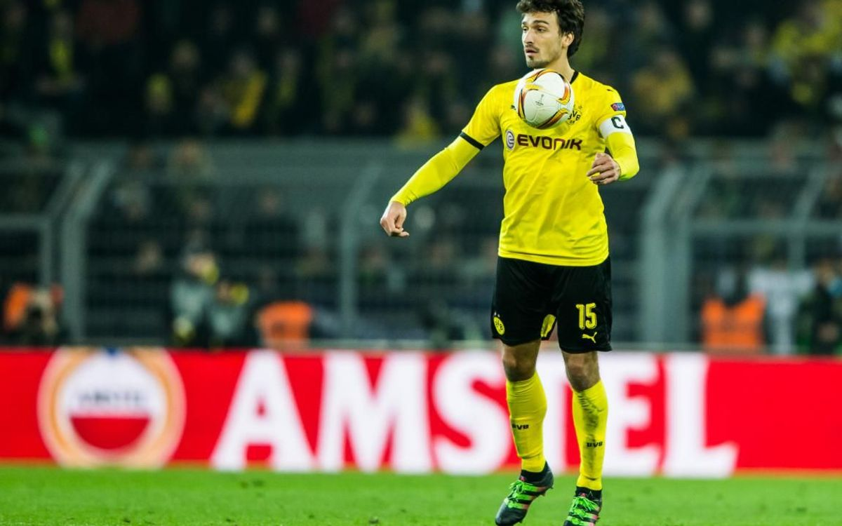 Mats Hummels, during his first stint with Dortmund - Photos UEFA