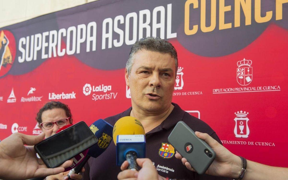"""Xavi Pascual: """"El Cuenca nos exigirá el 100%"""""""