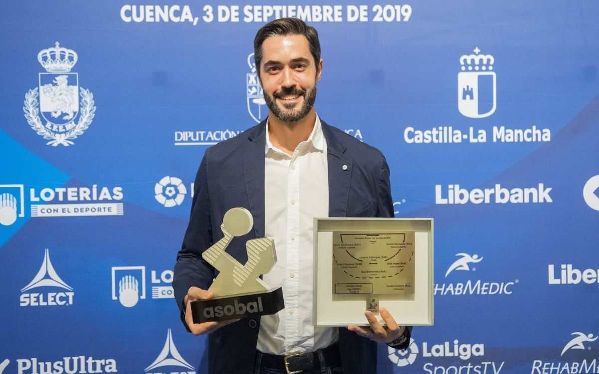 Raúl Entrerríos, MVP de la Lliga 2018/19
