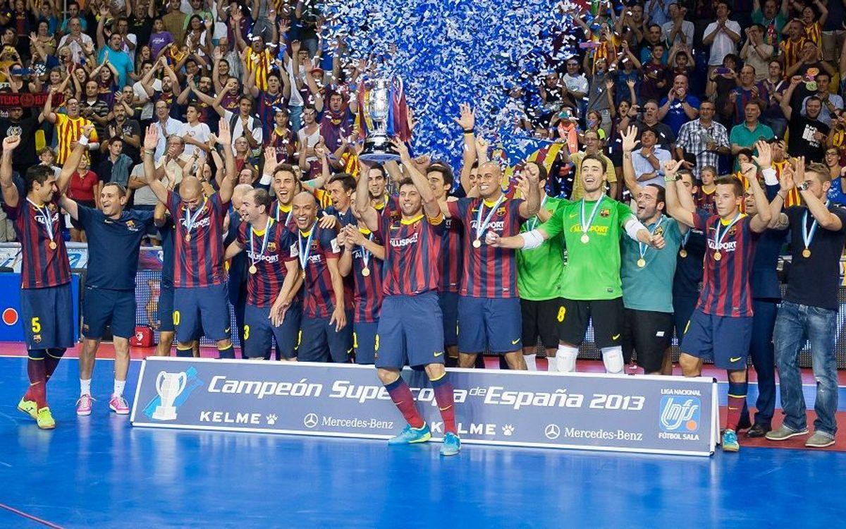 El Barça busca su segunda Supercopa