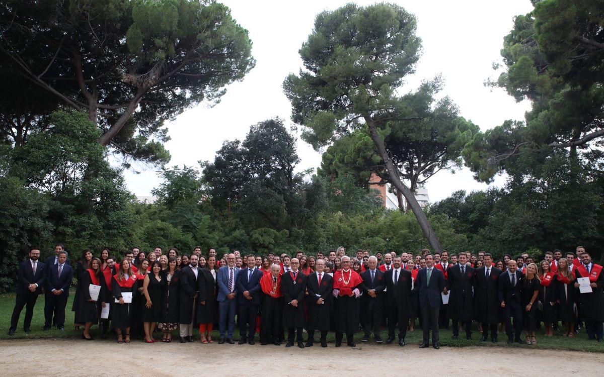 Estudiants, pertanyents a unes vint nacionalitats diferents - AITOR LAMADRID