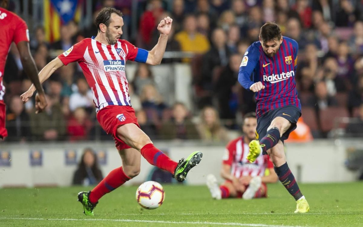 Diego Godín en la seva etapa a l'Atlètic de Madrid - Miguel Ruiz FCB