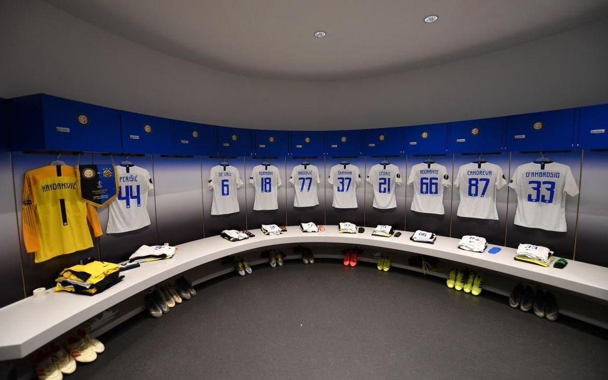 El vestidor del Giuseppe Meazza - Fotos UEFA