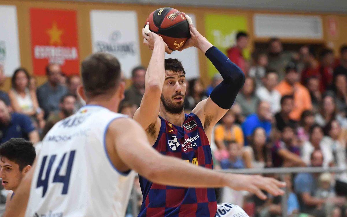 El Barça disputa la Liga Catalana en Badalona
