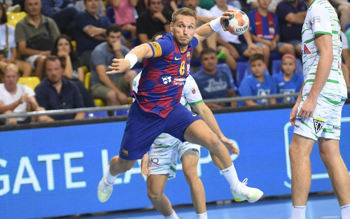 Clear win for Barça against Helvetia Anaitasuna