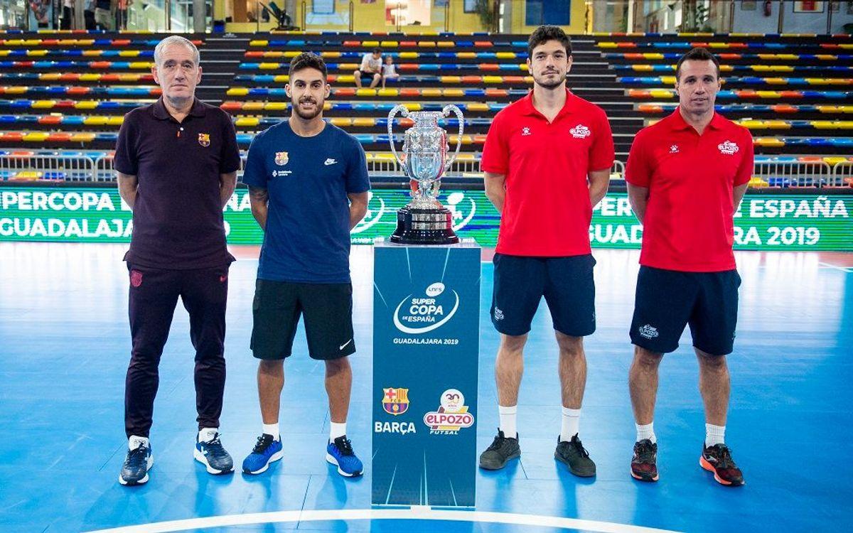 Barça i ElPozo continuen el pols a la Supercopa