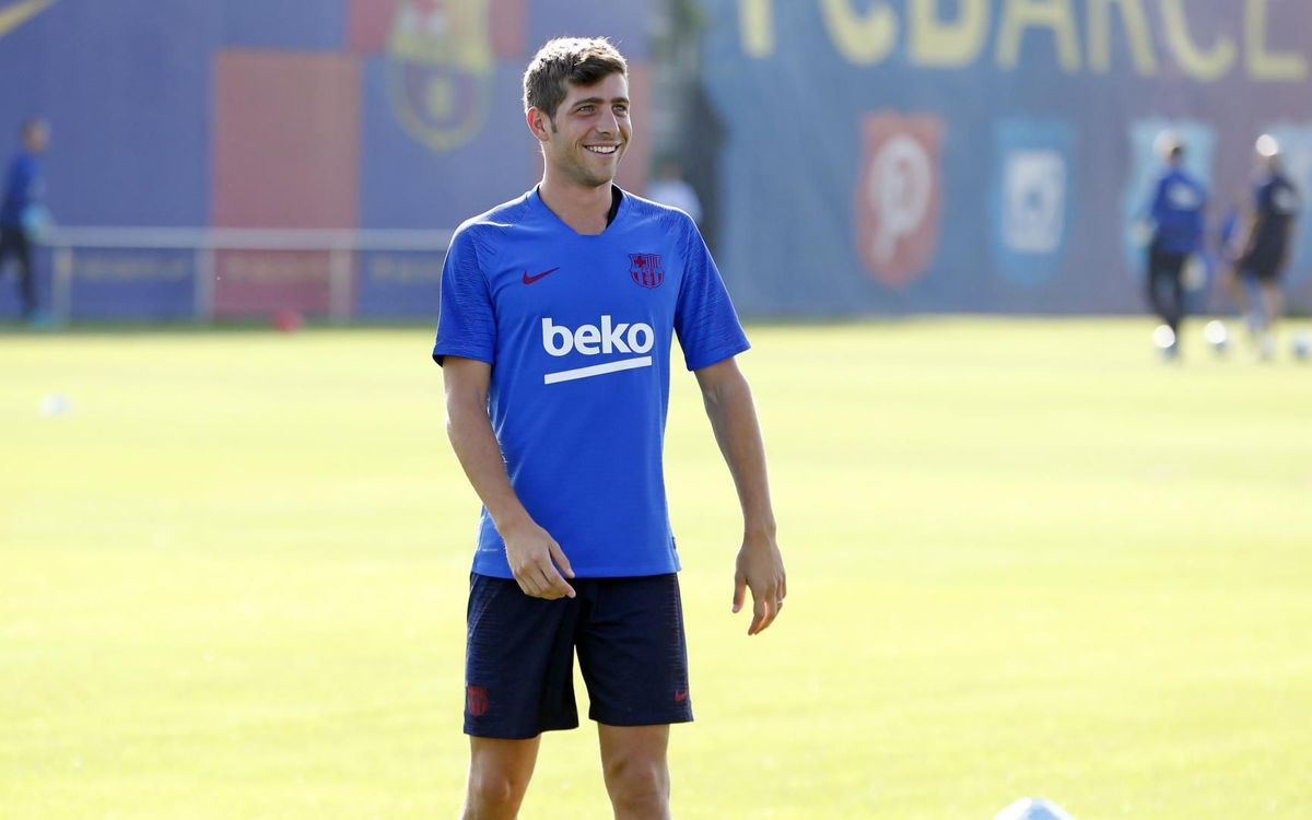 The plan for training ahead of the game against Valencia