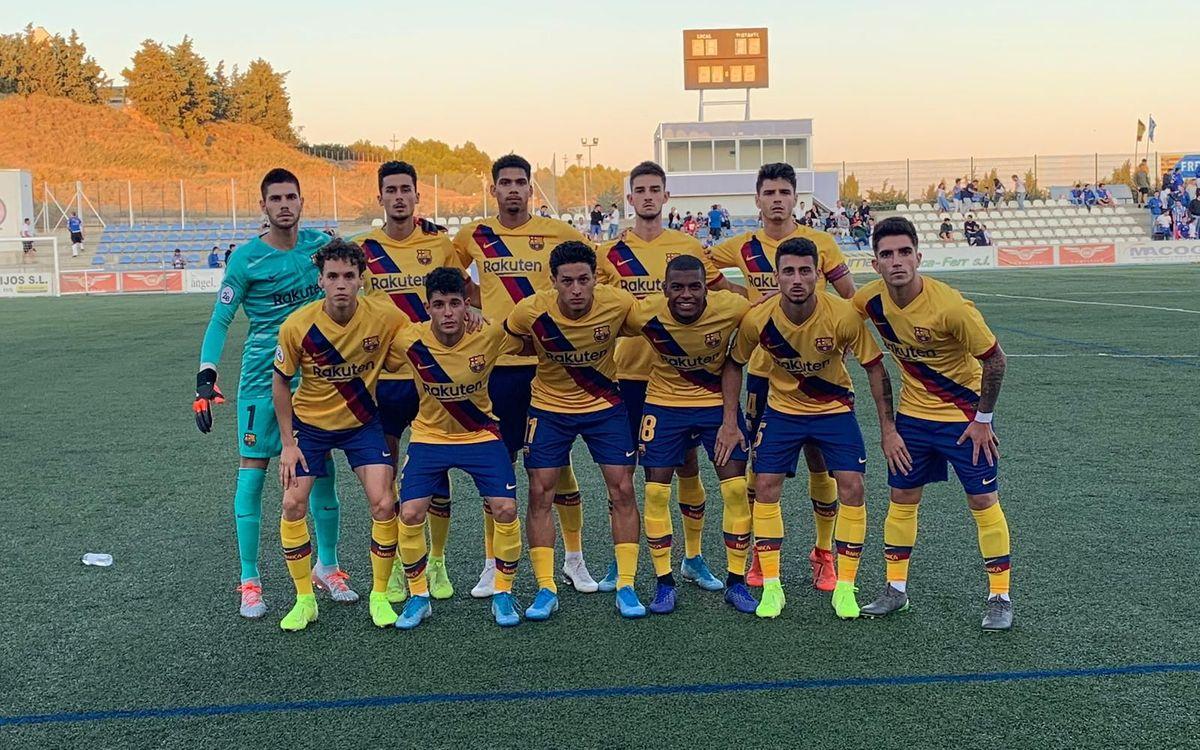 Ejea - Barça B: Tropiezan en el último suspiro (1-0)