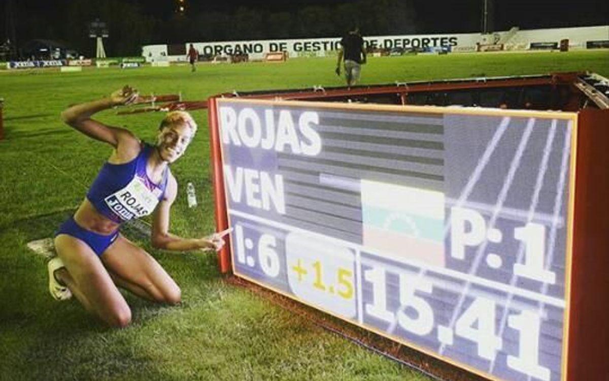 Yulimar Rojas aconsegueix la segona millor marca de la història