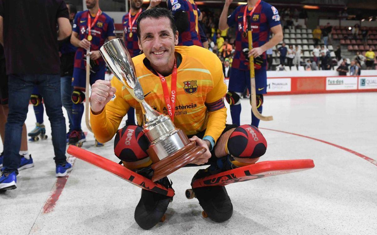 Aitor Egurrola, el deportista de la historia del FC Barcelona con más títulos