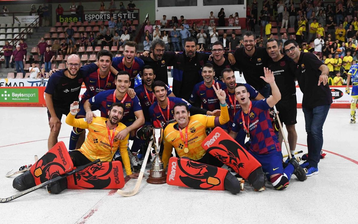Caldes 3-4 Barça: Catalan champs as Egurrola sets new record
