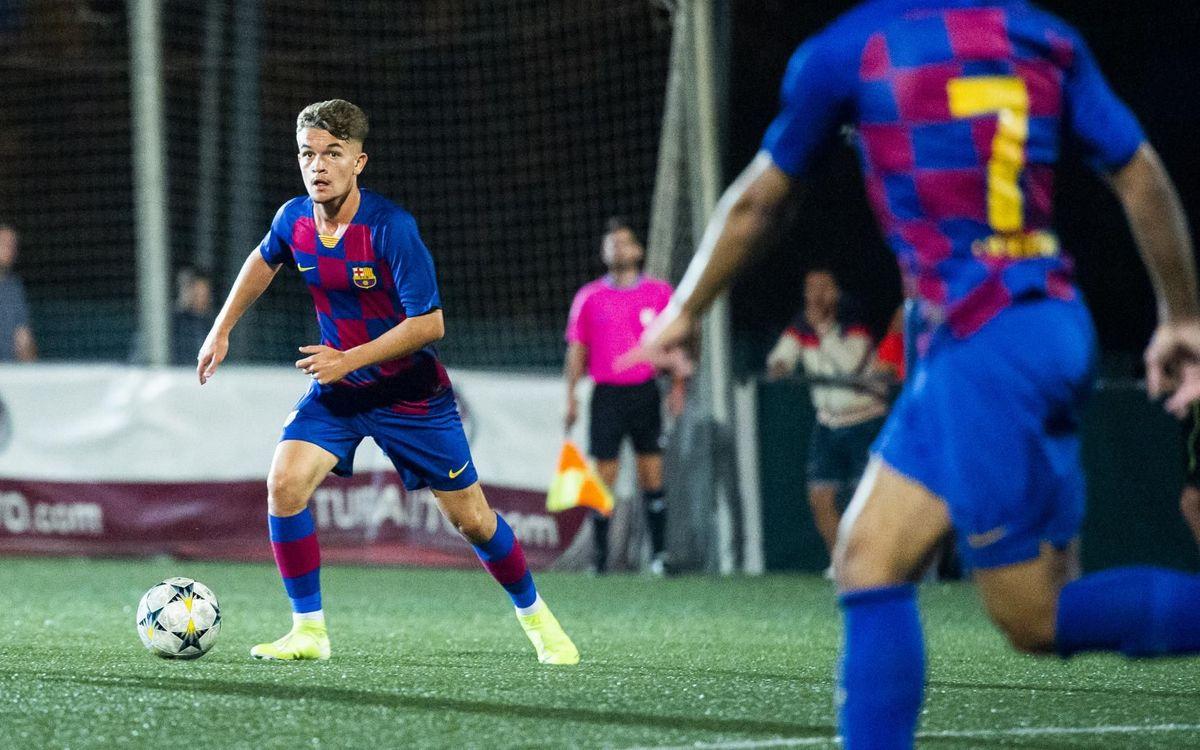 Cornellà - Juvenil A: Un punto para iniciar la temporada (1-1)