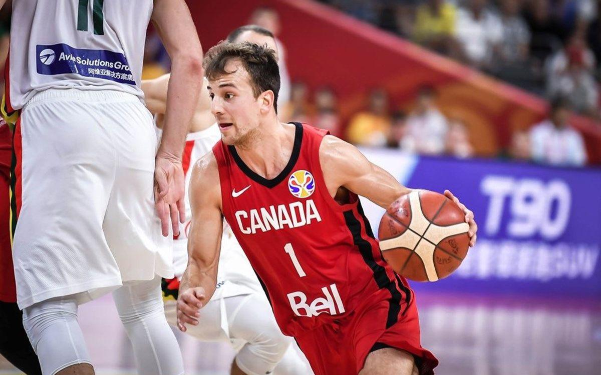 Kevin Pangos finaliza su participación en el Mundial de baloncesto