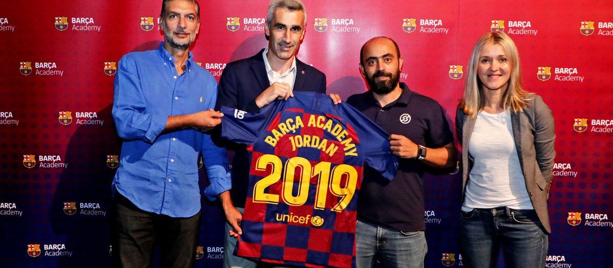 La Barça Academy Jordània obre les seves portes
