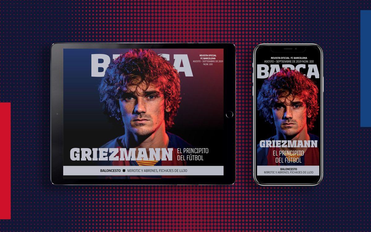 El número 100 de la REVISTA BARÇA, ya disponible en formato multimedia