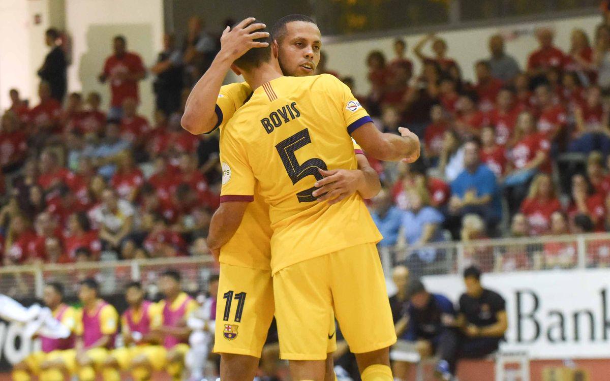 Futsal Mataró - Barça: A la final con solvencia (2-7)
