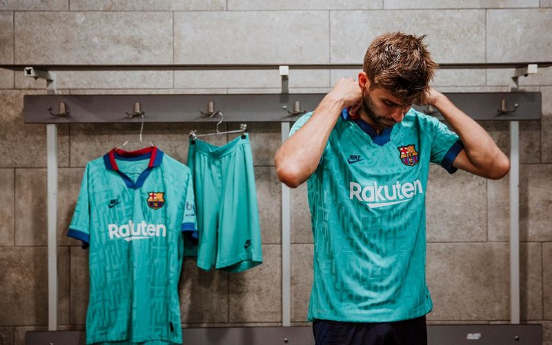 pride in barcelona inspires the design for barca s third kit this season pride in barcelona inspires the design