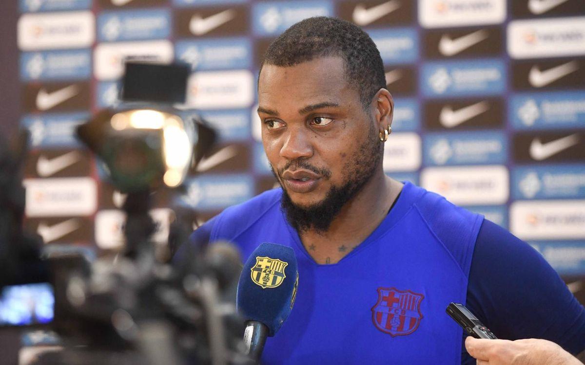 """Sorhaindo: """"Será un rival duro, el Bidasoa Irún es un equipo de Champions"""""""
