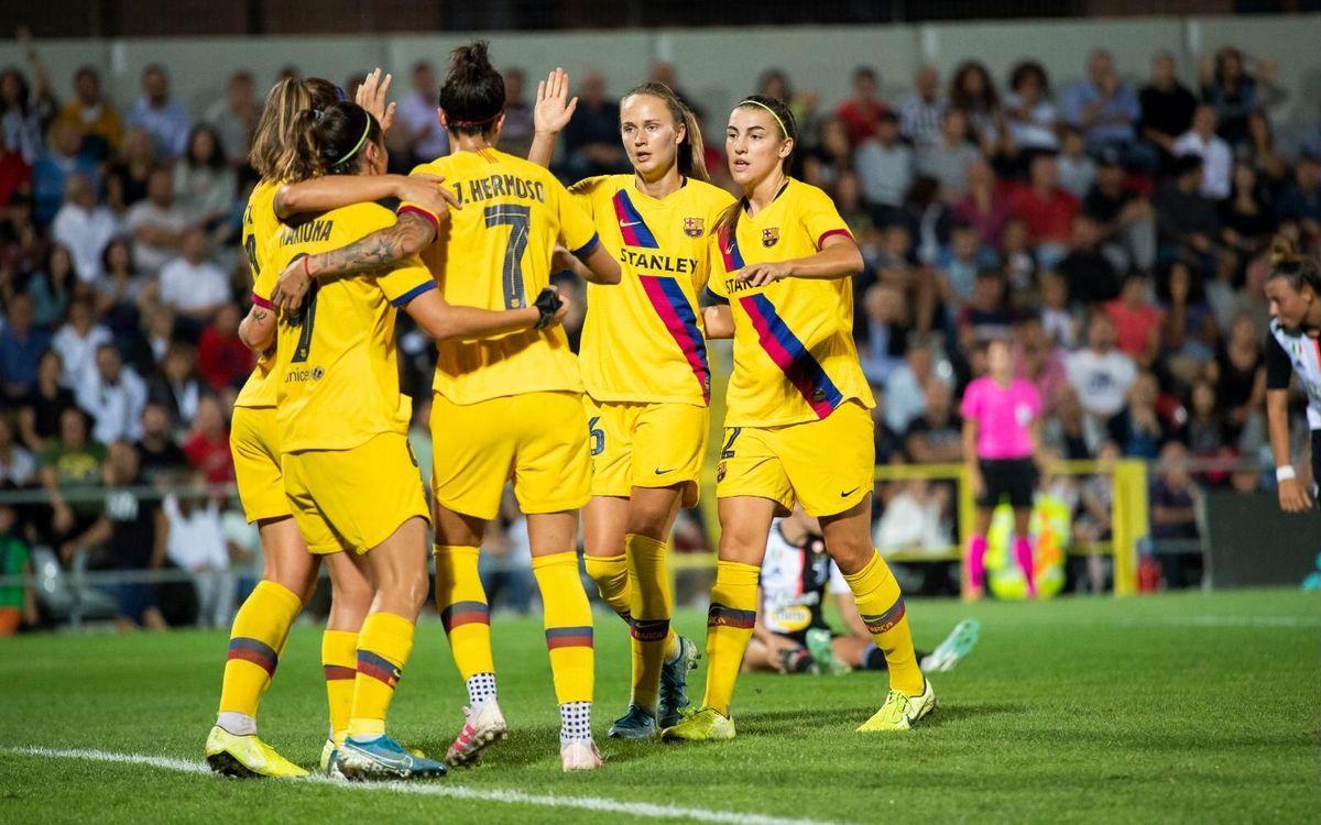 Juventus-Barça: Imponen el dominio de principio a fin (0-2)